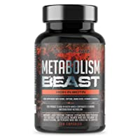 Metabolism Beast | Hardcore Fat Burner Supplement with Biotin which contributes to Normal macronutrient Metabolism | 60 Servings