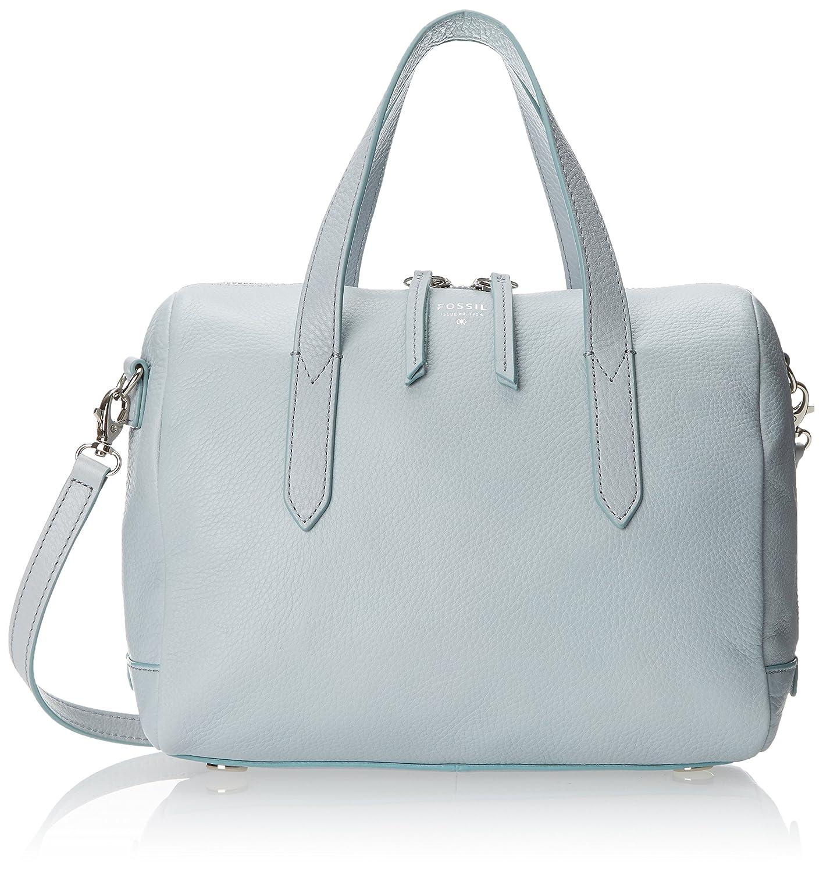 0d24e2ab42 Fossil End of Season Sale Women s Satchel (Blue) (ZB5486180)  Amazon.in   Shoes   Handbags