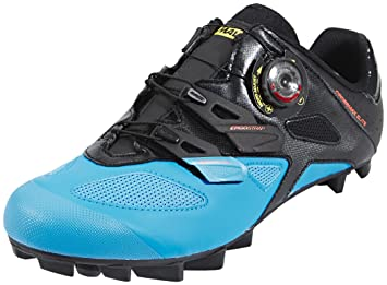 Mavic Crossmax Elite - Zapatillas - azul/negro Talla 47 1/3 2017