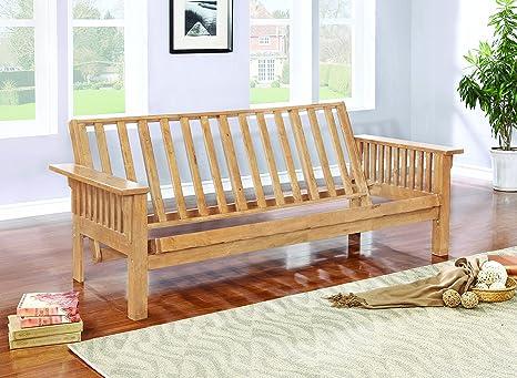 Amazon.com: Coaster East Wenatchee futon Marco: Kitchen & Dining