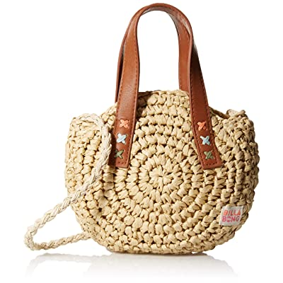 Billabong Girls' Girls' Sandy Shores Straw Bag Natural One Size: Clothing