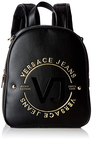 3c5bc0ce984c Versace EE1VTBBHC E899 Black Backpack for Womens