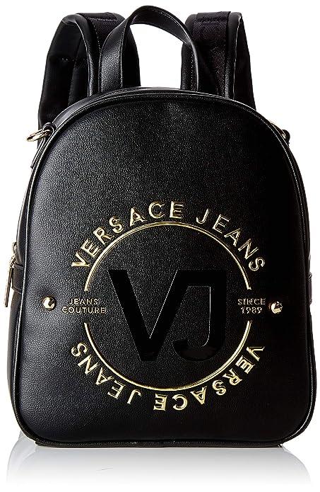 scarpe di separazione 12de6 3f4c0 Versace Jeans Bag Borsa a zainetto Donna, Nero 20x26x10 cm ...