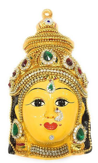 Varalakshmi Face Idol for Varamahalakshmi Pooja - 7 inch