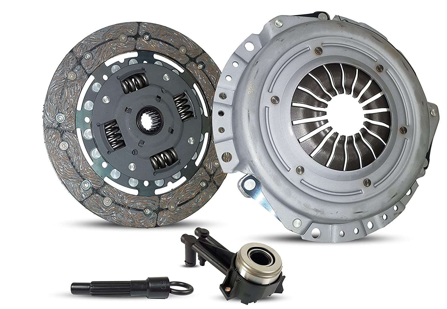 Amazon.com: New HD Clutch Slave Kit Works With Ford Fiesta 1.6L L4 SOHC 2001-2010: Automotive
