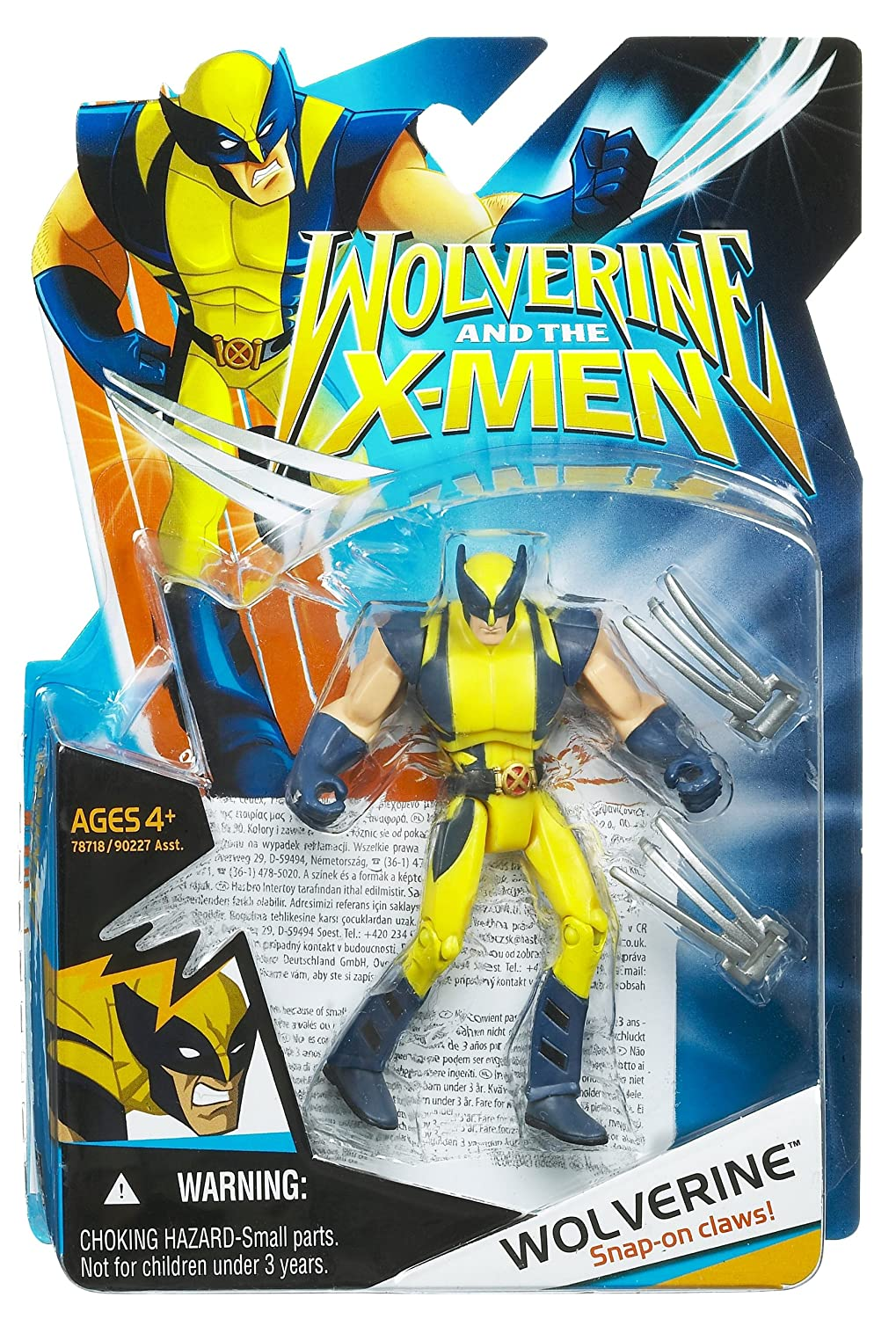 Amazon Hasbro Wolverine And The X Men Wolverine Action Figure