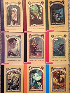Series Of Unfortunate Events Set Of 12 Books Volumes 2 13