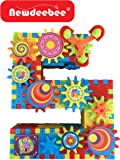 Newdeebee - 3D Interlocking Learning Gears (Special Edition) - gear building toy set