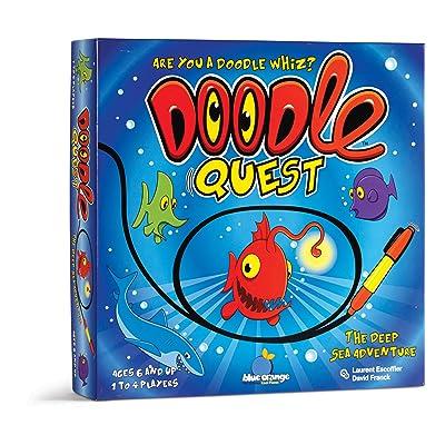Blue Orange Doodle Quest Game: Toys & Games