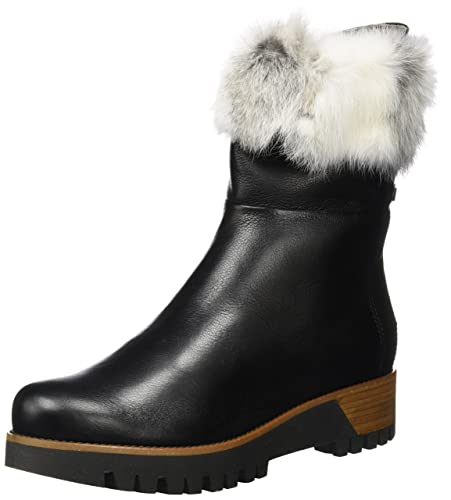 AH922 MANAS chaussures noir satin femme bottines EU 37 DgEWsU