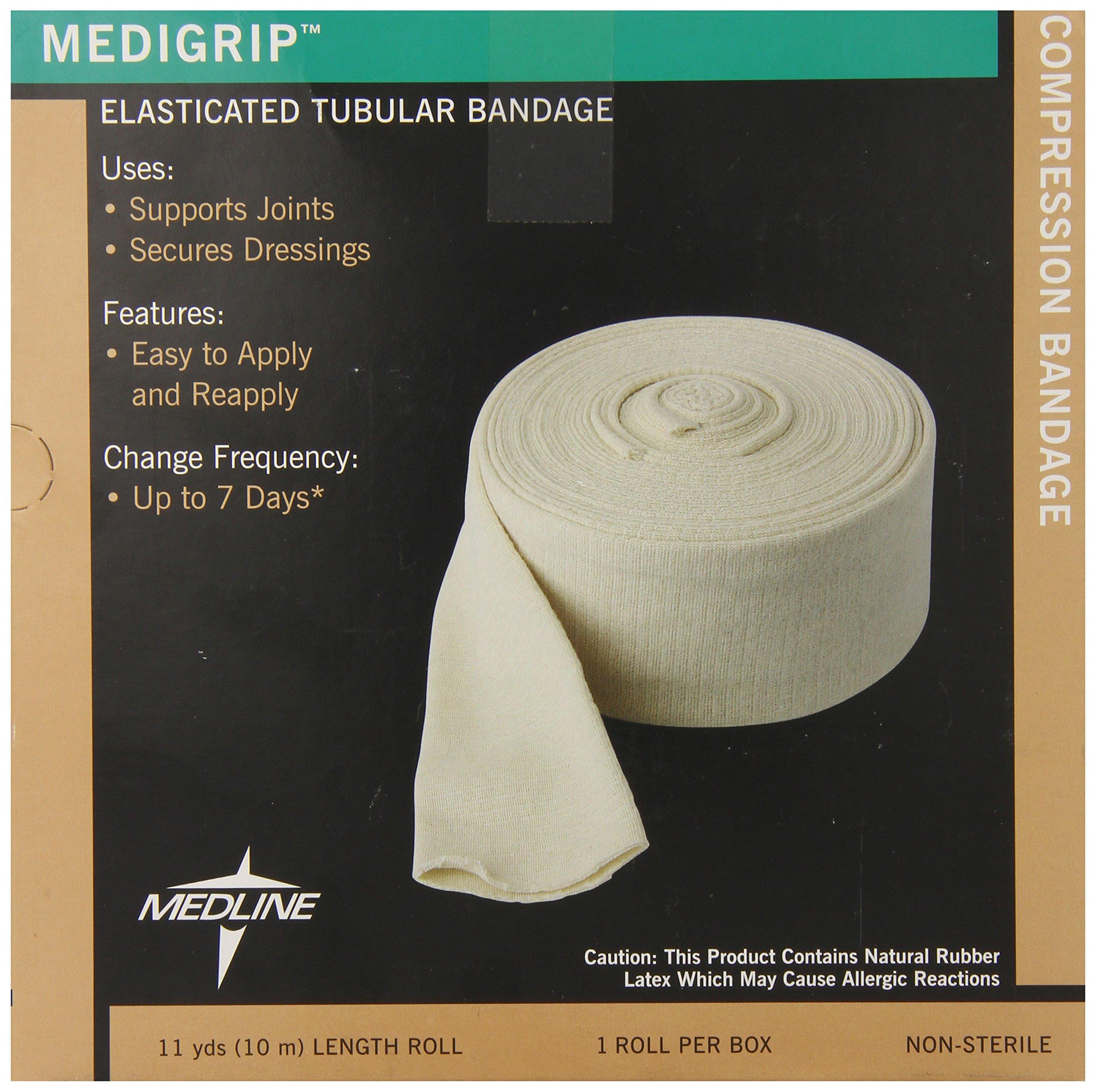 Medline Bandage Tubular Elastic Medigrip, Size D