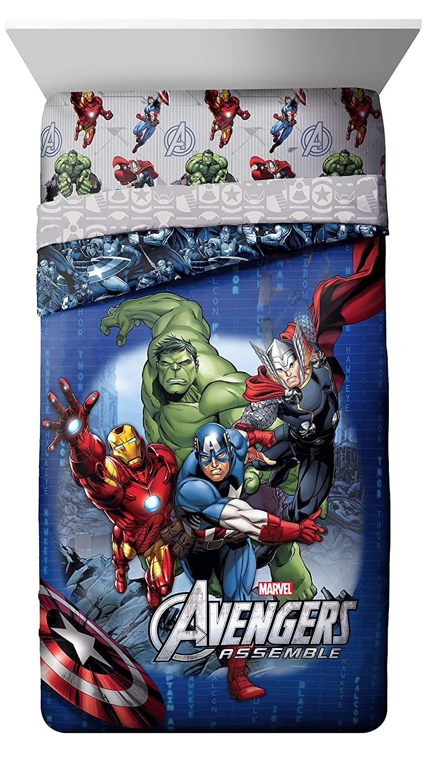 Marvel Avengers Classic Halo Reversible Comforter, Twin/Full