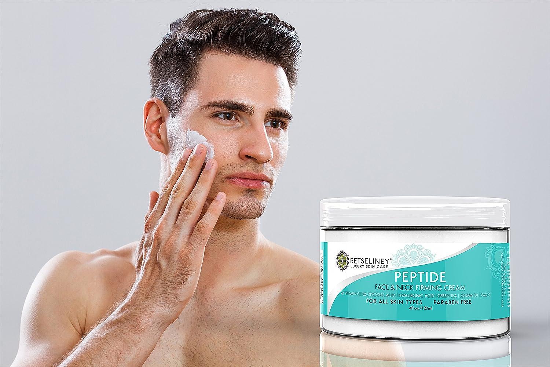 Retseliney Crema reafirmante para rostro y escote, 120 ml, alisa la piel flácida, suaviza la piel del cuello, orgánica, natural, hidratante de uso diario, ...