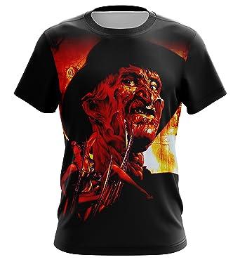 cd7c2188e65 Amazon.com  Freddy Krueger Shirt. A Nightmare on Elm Street T-Shirt ...