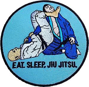 90 mm Brazilian Jiu Jitsu Grappling Patch Iron-on Badge BJJ Gi Kimono Shorts