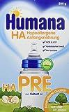 Humana Pre HA Hypoallergene Anfangsnahrung, 1er Pack (1 x 500 g)