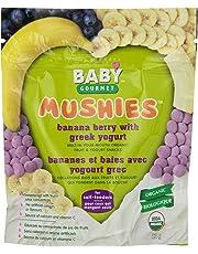 Baby Gourmet Mushies Banana Berry with Greek Yogurt, 8-Pack