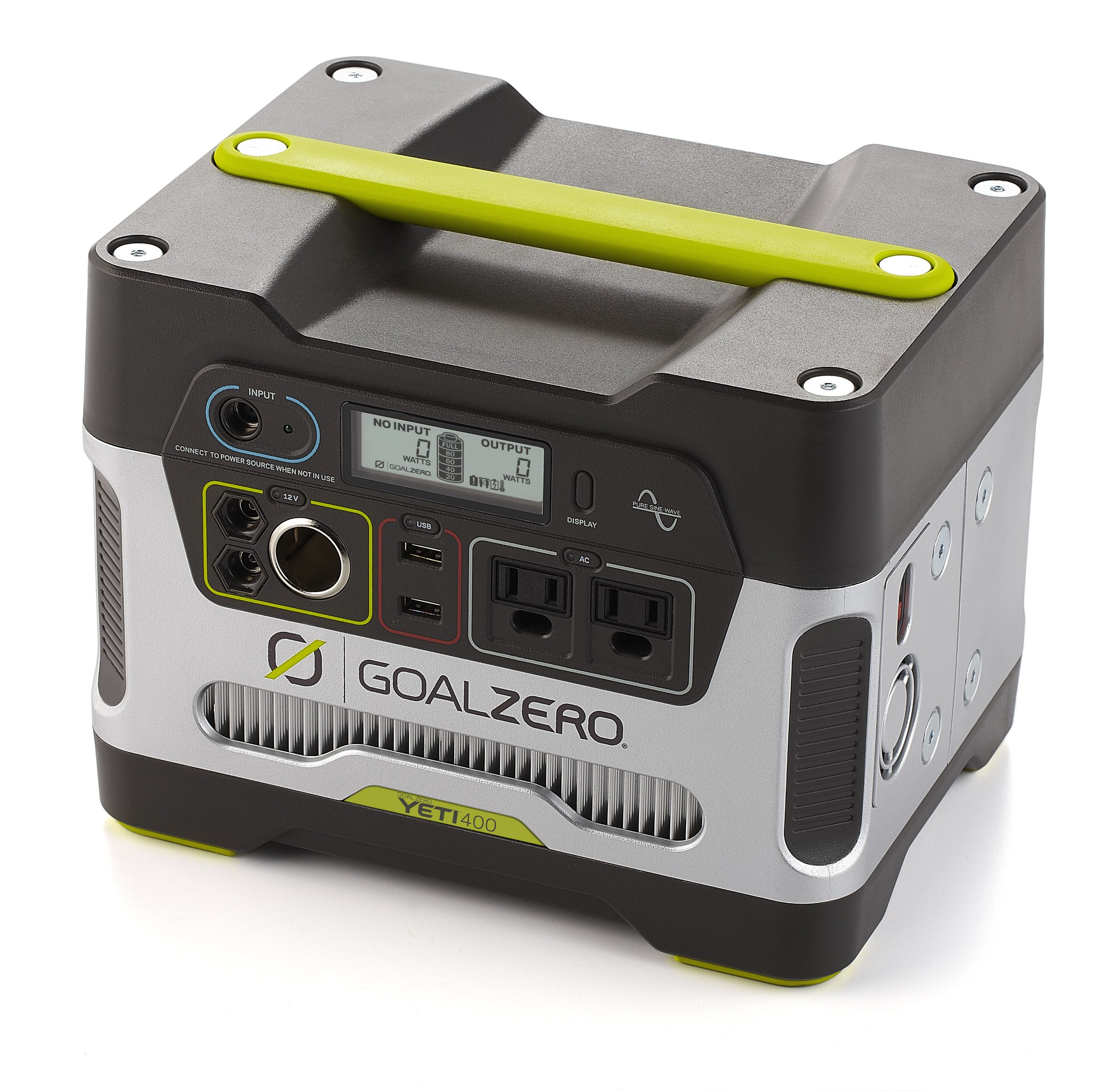 Goal Zero Yeti 400 Portable Power Station, 400Wh Battery Powered Generator Alternative with 12V, AC and USB Outputs by Goal Zero (Image #2)