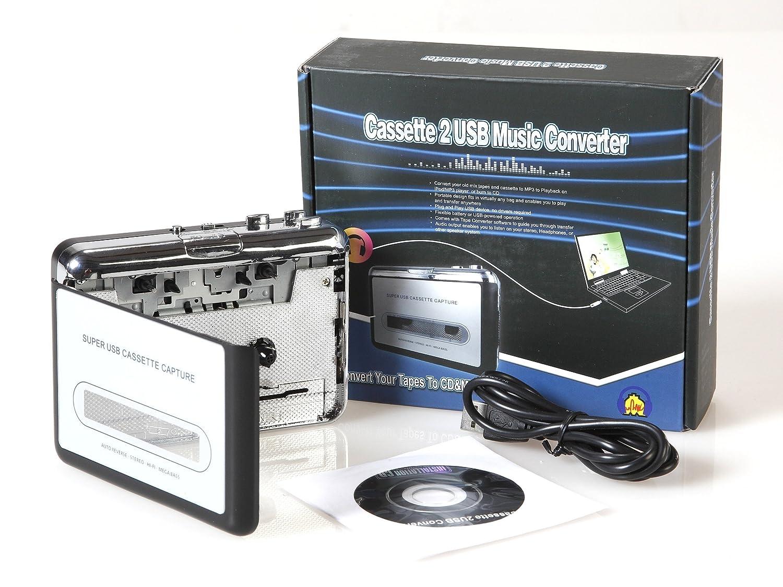 CM3 - Digitalizador y conversor de casetes con conexión USB: Amazon.es: Electrónica