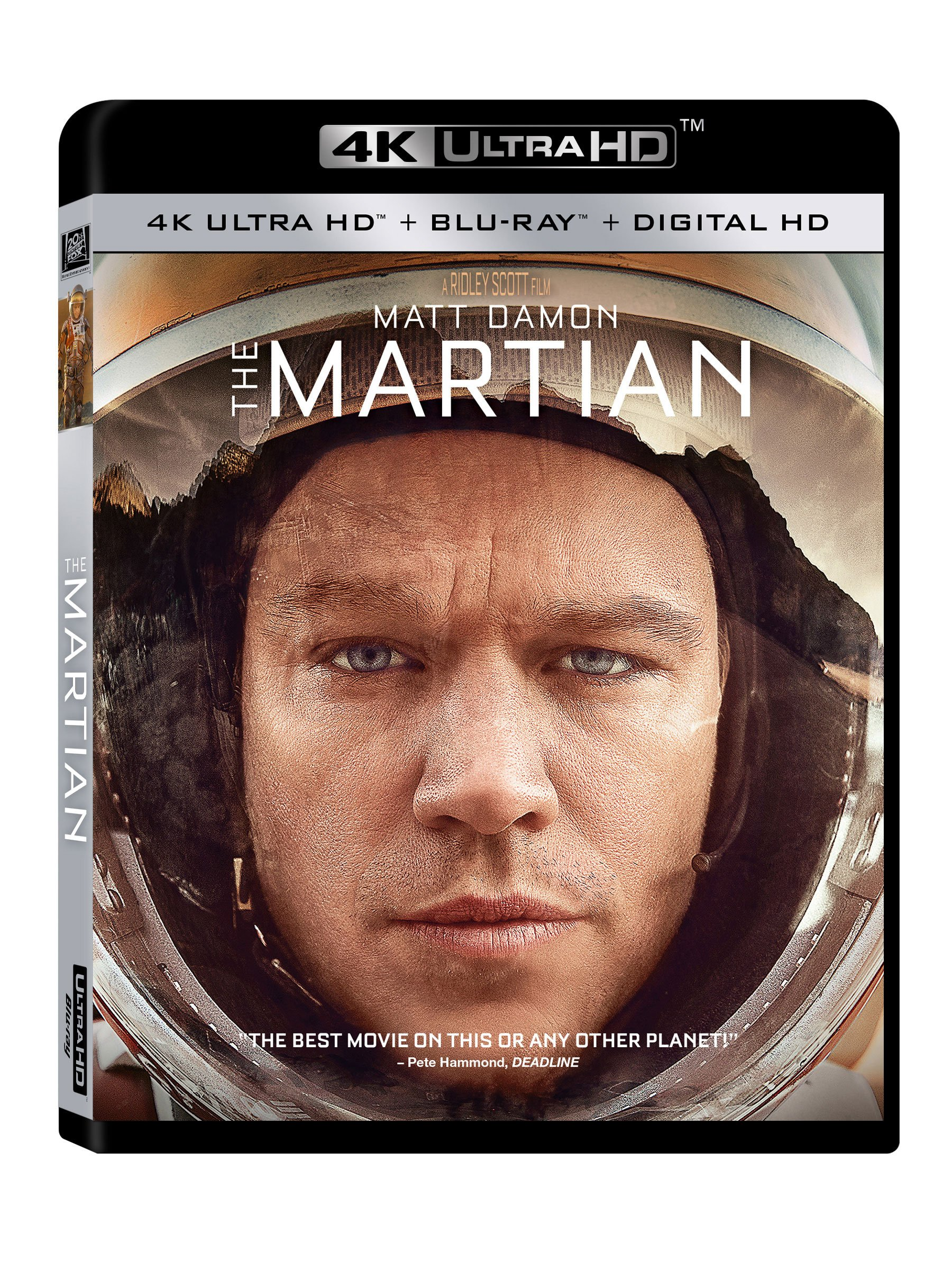4K Blu-ray : The Martian (Digitally Mastered in HD)