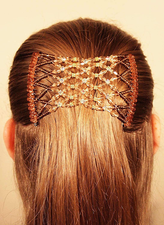 Mebella Magic Haar-Clips, dehnbarer, doppelter Kamm für verschiedene Haarstile TheMagicClip