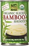 Native Forest Organic Sliced Bamboo Shoots, 14 Ounce (Pack of 6)
