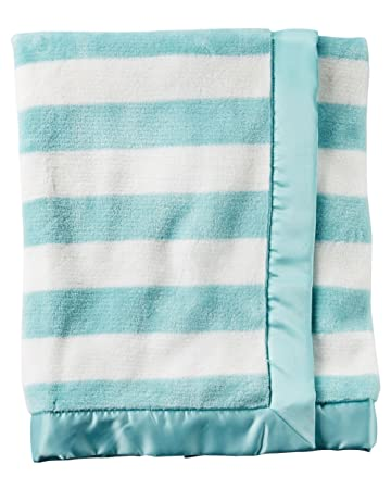Amazon Com Carter S Baby Boys Girls Plush Blanket Supersoft With