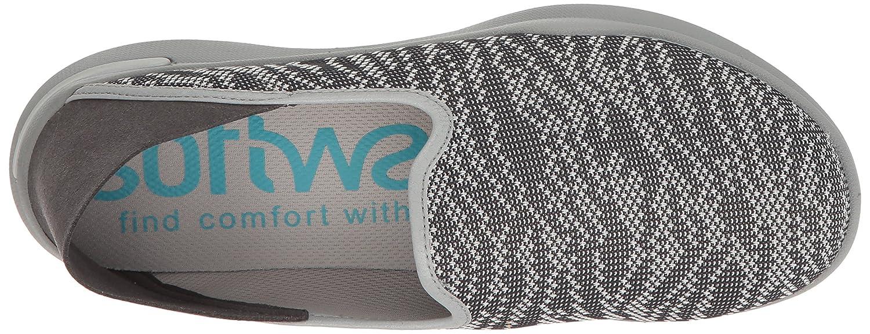 SoftWalk Flat Women's Simba Flat SoftWalk B01HQVSYFI 8 W US|Charcoal 140745