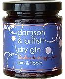 Damson & British Dry Gin Jam 227g (Jam & Tipple)