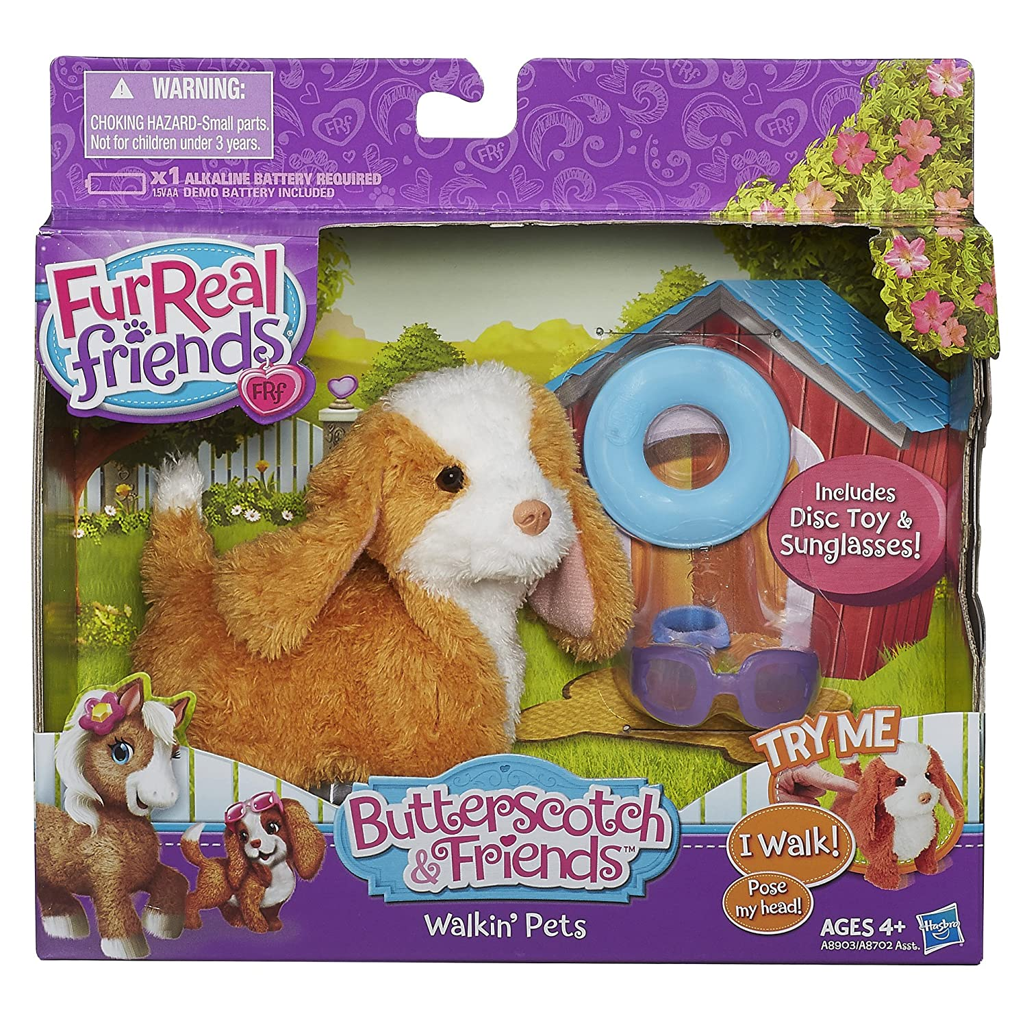 Furreal friends baby snow leopard flurry review robotic dog toys - Amazon Com Furreal Friends Butterscotch And Friends Walking Pets Maple Sugar Spaniel Pet Toys Games