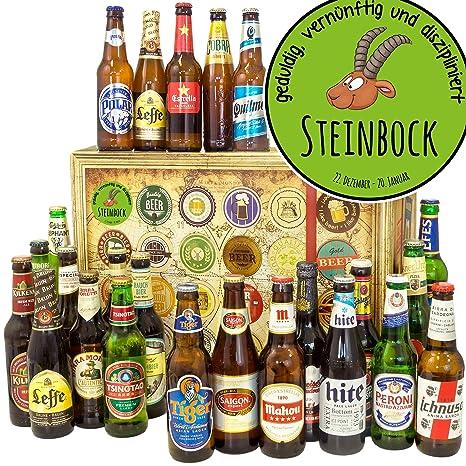 Sternzeichen Steinbock 24 Biere Aus Der Welt Steinbock