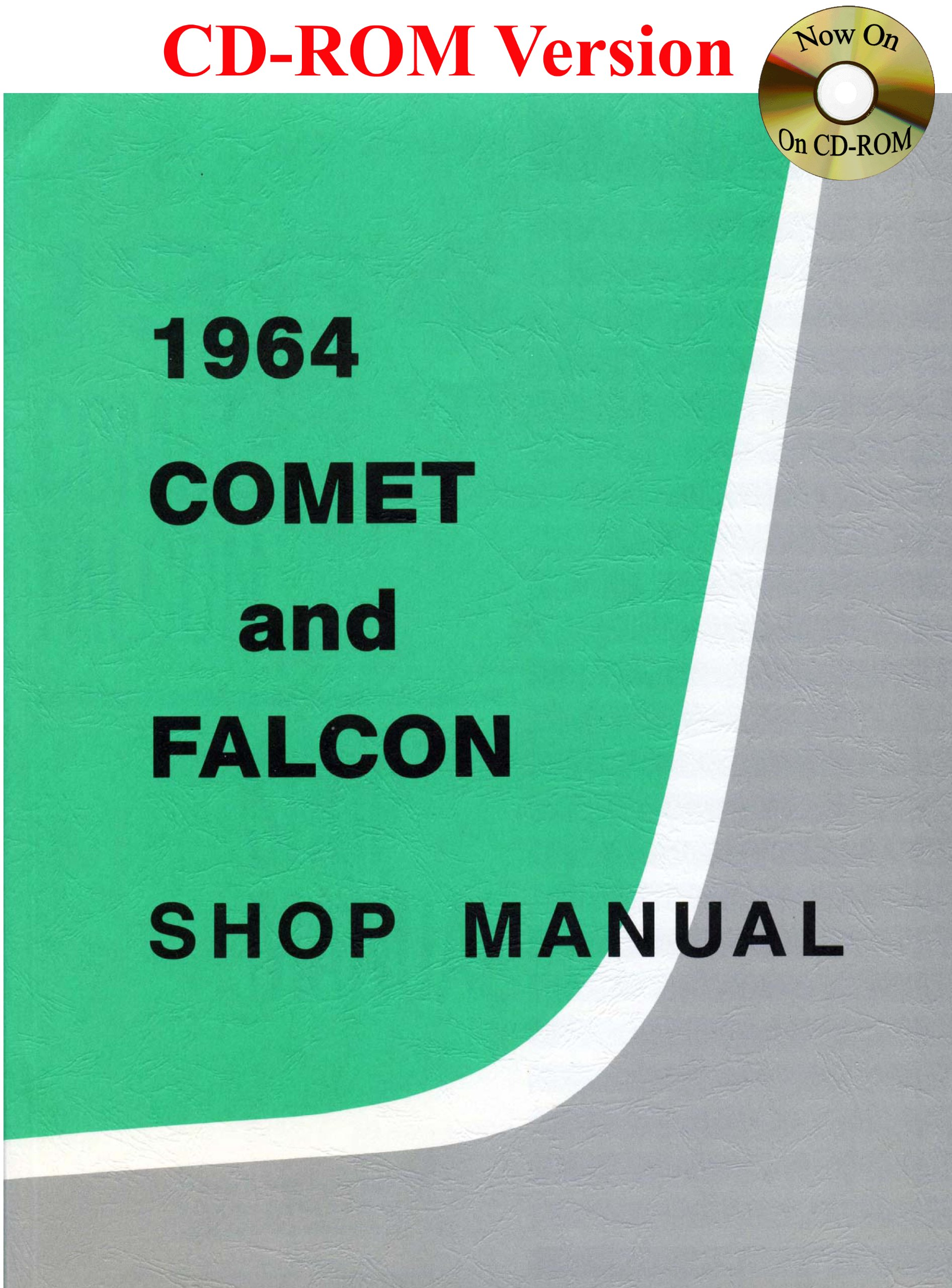 1964 comet and falcon shop manual with 1964 1 2 mustang supplement rh amazon com 64 Comet Interior 67 Comet