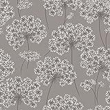 NuWallpaper NU1693 Angelica Grey Peel & Stick Wallpaper