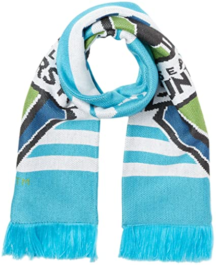 hot sale online 6318c 2e660 Amazon.com   MLS Chicago Fire Adult 1st Kick Jersey Hook Jacquard Scarf,  One Size, Blue   Clothing
