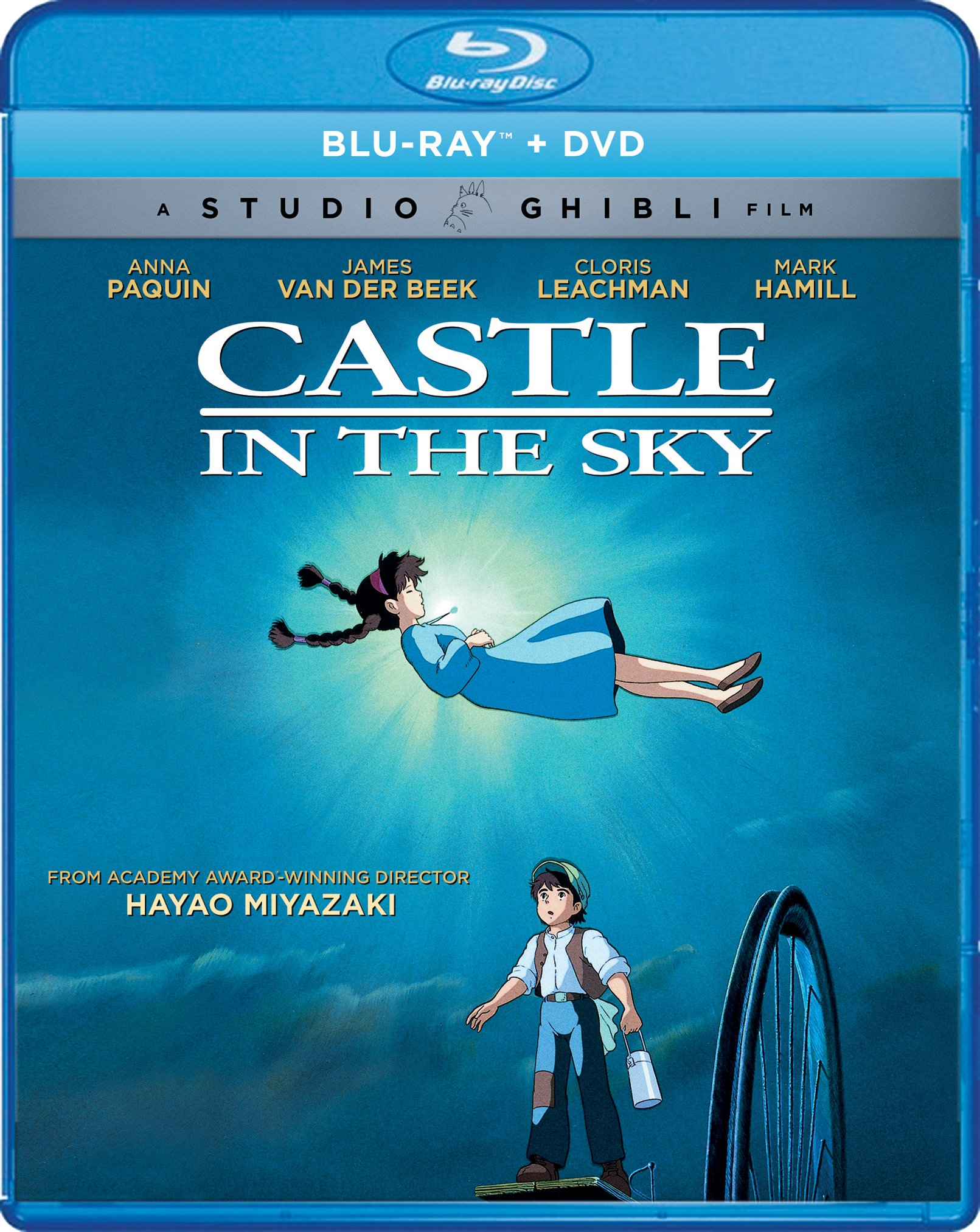Blu-ray : Castle In The Sky (With DVD, Widescreen, 2 Pack, 2 Disc)