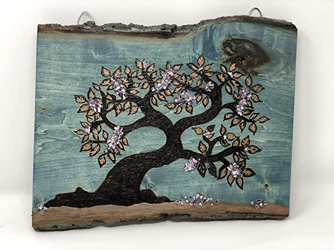 Amazon Com The Arabesque Tree Of Life Wooden Wall Art Hangable