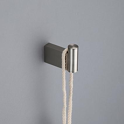 Amazon.com: Maykke Benidorm Towel and Robe Hook Modern Wall ...