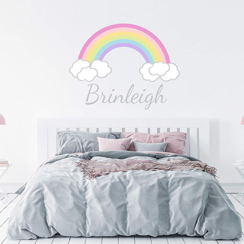 Unicorn Personalised Name Girls Bedroom Decor Vinyl Wall Sticker Decal Window
