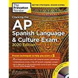 Cracking the AP Spanish Language & Culture Exam with Audio CD, 2020 Edition: Practice Tests & Proven Techniques to Help You S