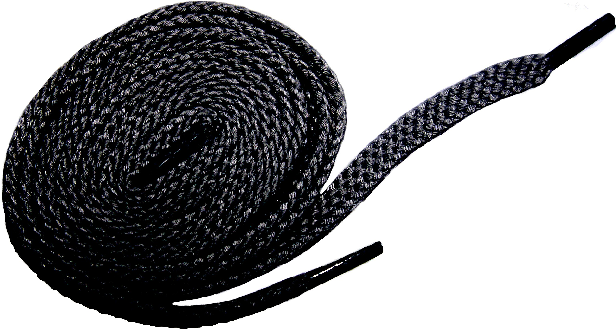 Shoeslulu 35.5'' Premium Oxford Chukka Desert Boot Flat Cotton Canvas Shoe Laces (35.5 in. (90 cm) Pack of 2, Midnight Black)