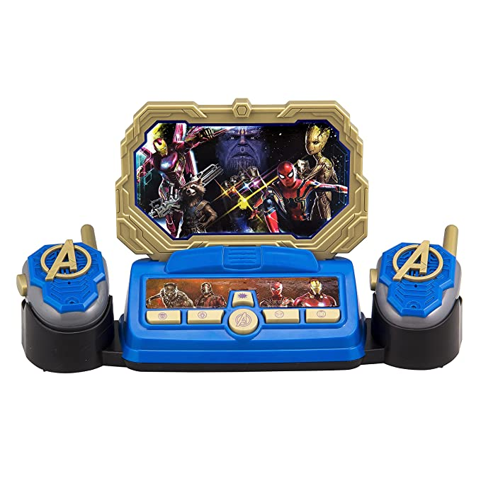 Avengers Infinity War Command Center with Kid Friendly Walkie Talkies and  Speech & Sound Effects