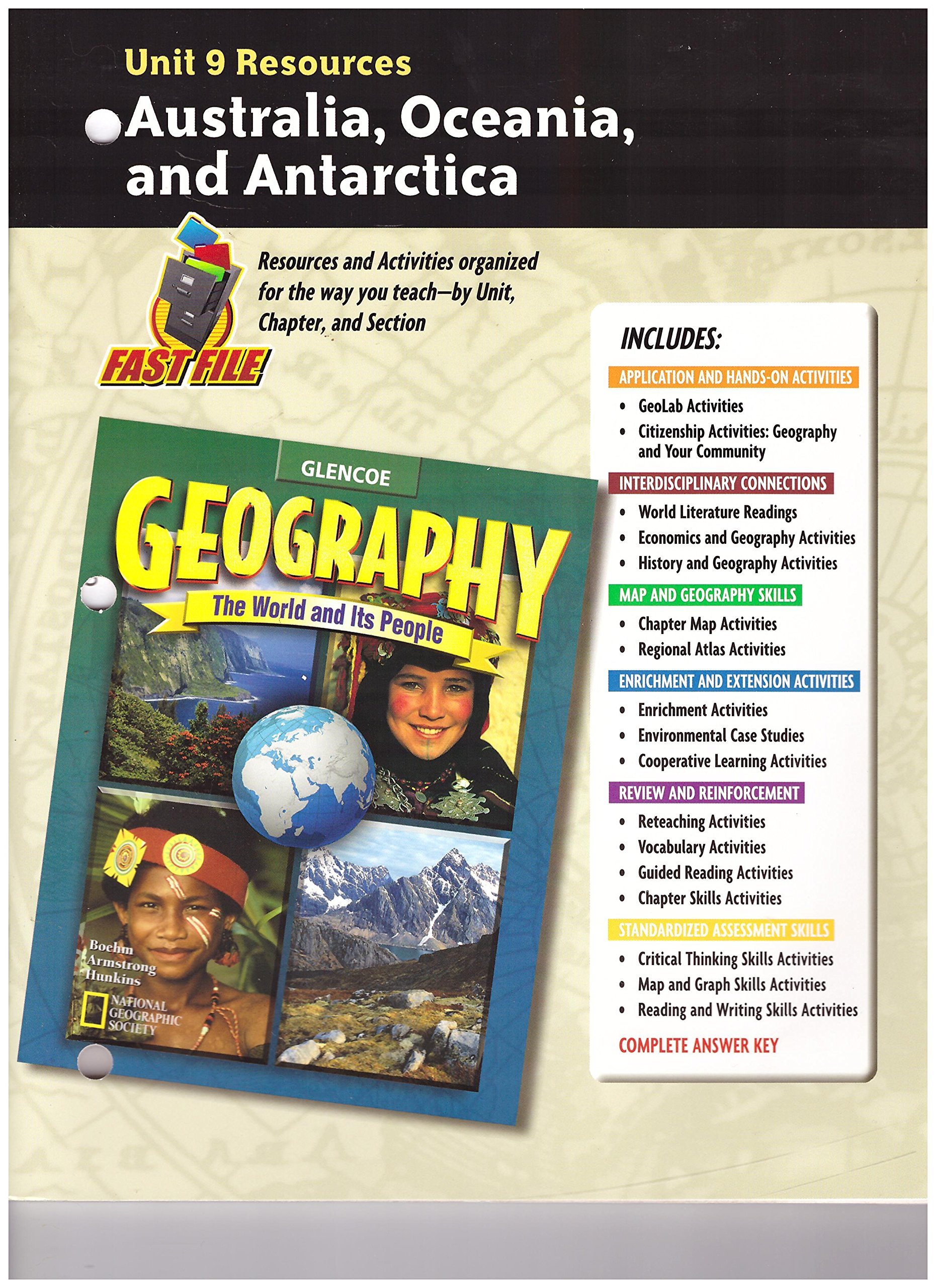Read Online Geography: The World and Its People Unit 9 Resources pdf