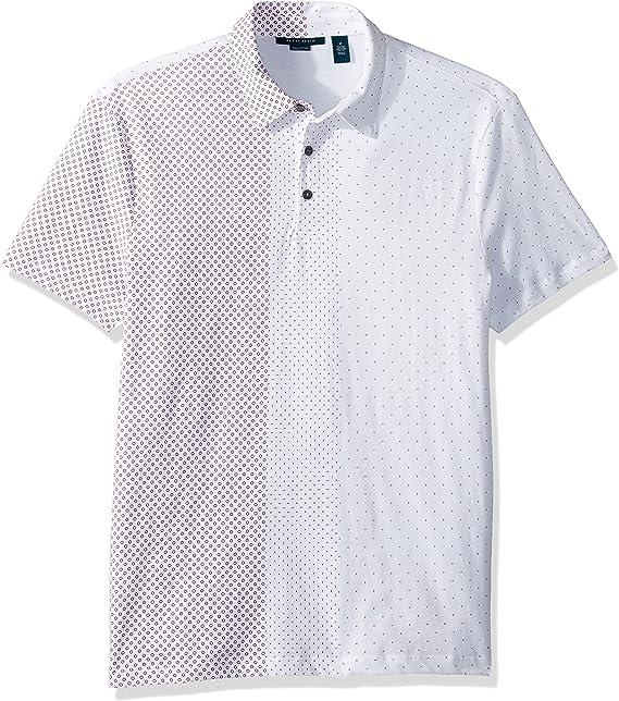 Perry Ellis Hombre Manga Corta Camisa Polo: Amazon.es: Ropa y ...