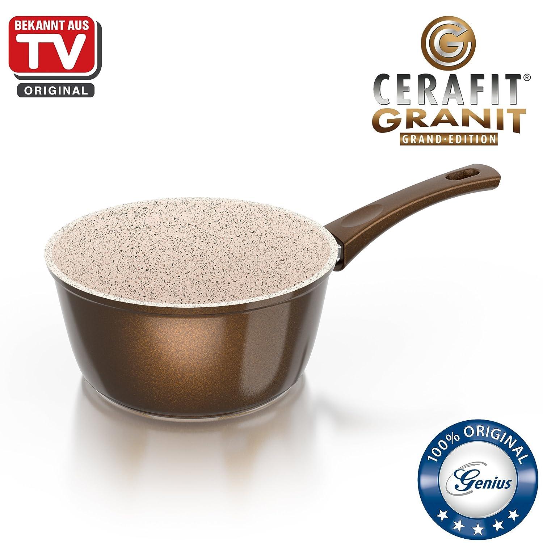 Genius Cerafit Granit | 19 Partes | Ollas y Sartenes | cerámica | antiadherente | Conocido de TV | NUEVO: Amazon.es: Hogar