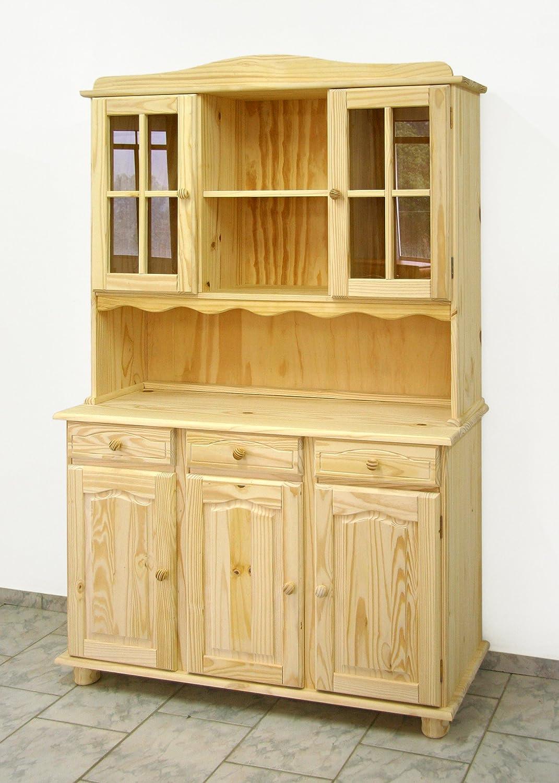 Alacena 3 puertas, Sin Barnizar 197x130x42, realizada en madera ...