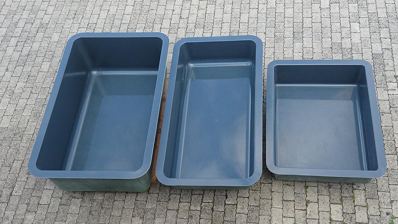 Wasserbecken 750 Liter - Das moderne Teichbecken von der Firma ...