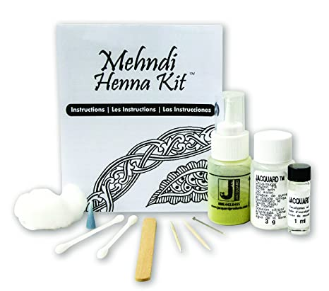 Jacquard Mehndi Henna Kit Amazon Toys Games
