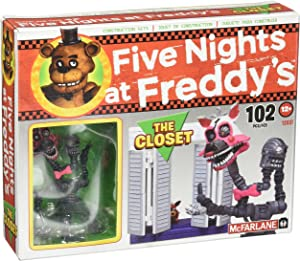 McFarlane Toys Five Nights At Freddy's The Closet Construction Set