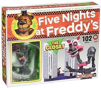 McFarlane Toys Five Nights At Freddyu0027s The Closet Construction Set