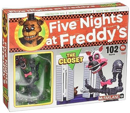 Ordinaire McFarlane Toys Five Nights At Freddyu0027s The Closet Construction Set